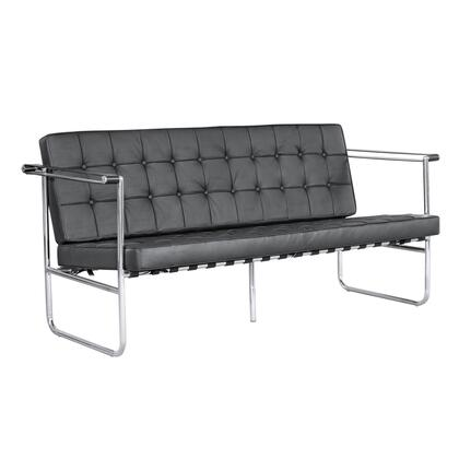 Fine Mod Imports FMI9249 Celona Collection Leather Sofa: