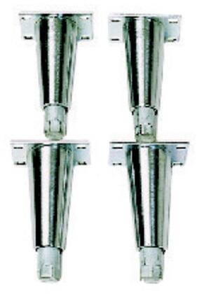frymaster 8101205 stainless steel legs 4 set