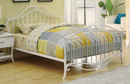 Coaster 400521 Bella Youth Bed in White Metal