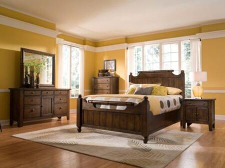 Broyhill ATTICHEIRLOOMSBEDQSET5 Attic Heirlooms Bedroom Sets