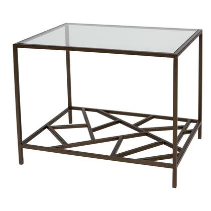 Allan Copley Designs 2140102 61.5x18x30 Cracked Ice End Table