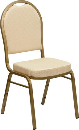 Flash Furniture FDC03ALLGOLDH20124EGG Hercules Series Contemporary Fabric Metal Frame Dining Room Chair