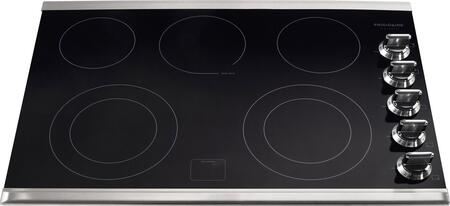 """Frigidaire FGEC3067MS 30"""" Gallery Series 5 Element Electric Cooktop, in Stainless Steel"""