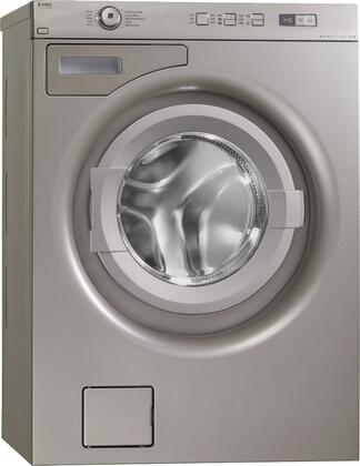"""Asko W6424 24"""" Washer with 2.12 cu. ft. Capacity, 10 Programs, Quattro  Suspension, SmartSeal  and Stainless Steel Inner/Outer Drum, in"""