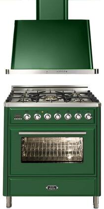 Ilve 721319 Majestic Techno Kitchen Appliance Packages