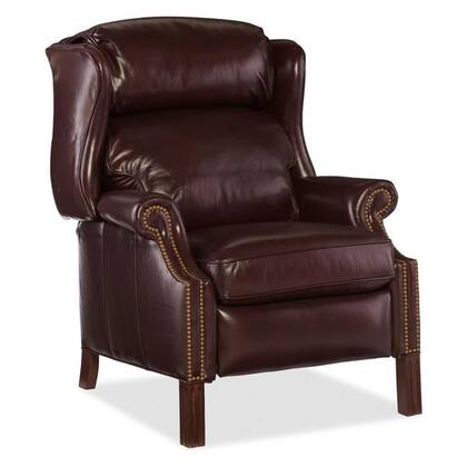Sicilian Grassetto Recliner Shown in Dark Chocolate