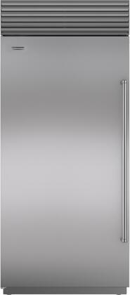 "Sub-Zero BI36RS 36"" Built-In All Refrigerator with 23.5 cu. ft. Capacity, 4 Adjustable Glass Shelves, Air Purification System, and LED Lighting, in Stainless Steel"