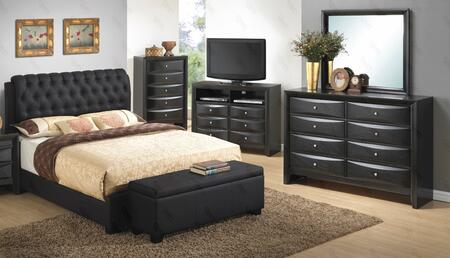 Glory Furniture G1500CQBUPCHDMTVB G1500 Queen Bedroom Sets