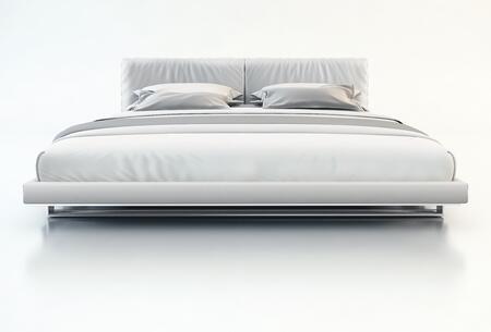 Modloft MD327FWHT Broome Series  Full Size Platform Bed