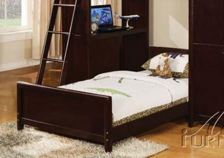 Acme Furniture 10355 Nathan Series  Twin Size Panel Bed