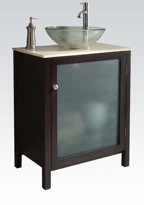 Acme Furniture 90008 Cherry Bath Sink