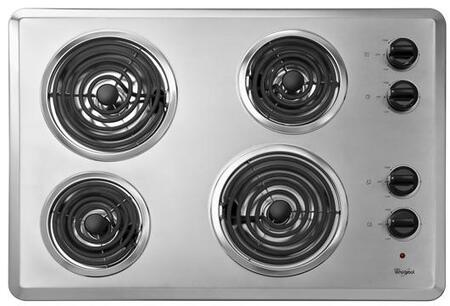 "Whirlpool WCC31430AR 30"" Electric Cooktop"