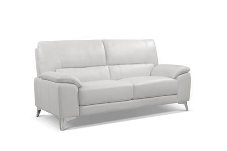 Whiteline Tatiana Tatiana Love Seat White