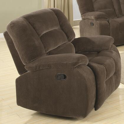 Coaster 600993 Charlie Series Casual Fabric Wood Frame  Recliners