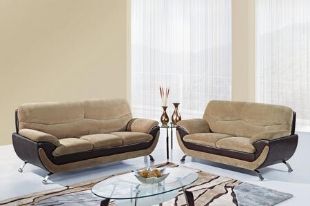 Global Furniture USA U4160CHAMPFROTHCHOCSLC Living Room Sets