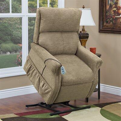 MedLift 1175EK Contemporary Vinal Wood Frame  Recliners