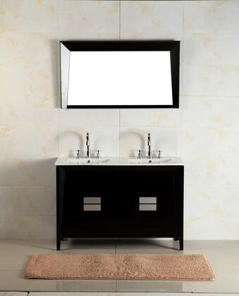 Bellaterra Home 500410 Vanity and Mirror Set