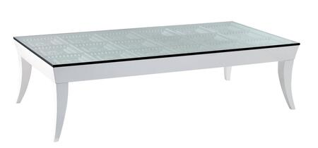 VIG Furniture VGWCTEM8CF002 White Modern Table
