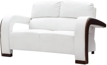 Glory Furniture G427L Faux Leather Stationary Loveseat
