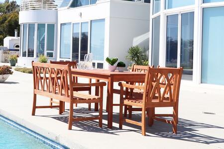 Vifah v98set58 rectangular shape patio sets appliances for Outdoor furniture 0 finance