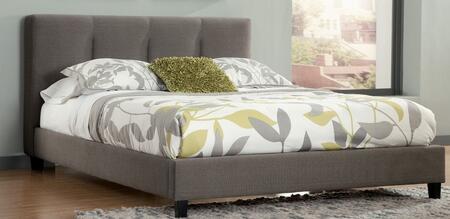 Milo Italia BR7846769 Bartlett Series  King Size Upholstered Bed