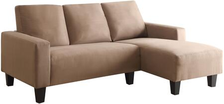 Coaster 500016 Sothell Series Stationary Microfiber Sofa