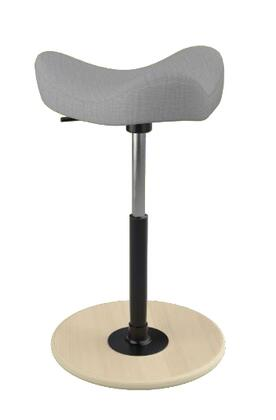 "Varier MOVE 2600 UMAMI 19"" - 27"" Sit-Stand Chair with Umami Upholstery,"