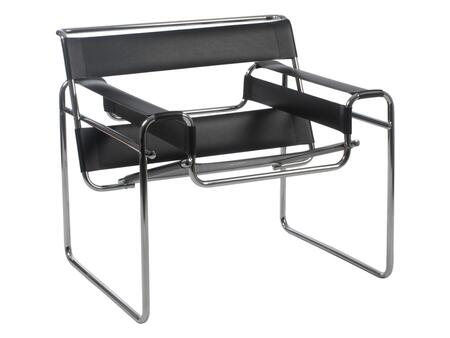 Euro Style 03126 Wassily Series  in Black