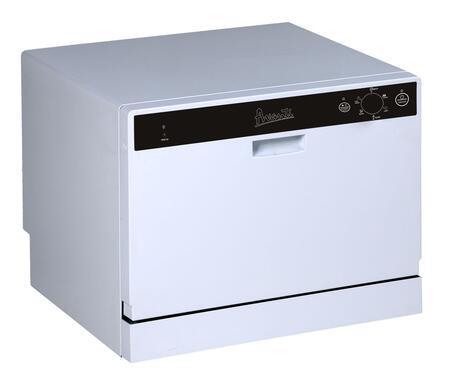 Avanti DW6W  Portable Full Console Dishwasher