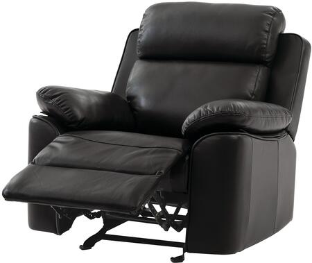 """Glory Furniture G660 Collection 34"""" Rocker Recliner with Removable Back, Split Back Cushion, Pillow Top Arms and Faux Leather Upholstery"""