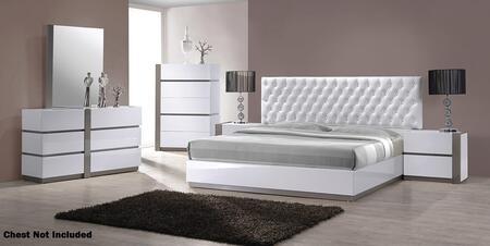 VIG Furniture VGKBVEROQ Modrest Vero Series 5 Piece Bedroom Set