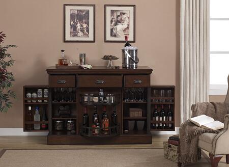"American Heritage 600060NAV Gabriella Series 52"" Wine Bar,"