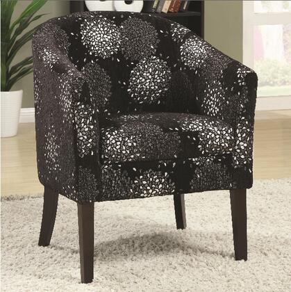 Coaster 902093 Accent Seating Series Fabric Wood Frame Accent Chair
