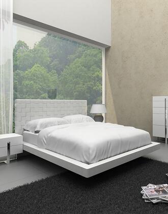 VIG Furniture VGCN1301-B2 Modrest Voco - Modern White Bedroom Bed