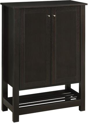 Coaster 950550 Accent Cabinets Series Freestanding Wood None Drawers Cabinet
