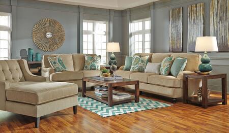 Milo Italia MI9130SET3PCBISQ Jaydan Living Room Sets