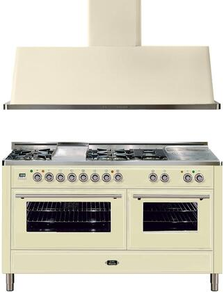 Ilve 721627 Majestic Techno Kitchen Appliance Packages
