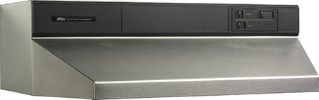 "Broan 89000 8939 39"" Under Cabinet Range Hood with 460 CFM Internal Blower and Standard Heat Sentry in"