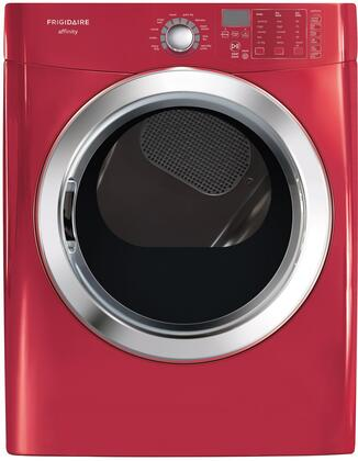 Frigidaire FASE7074NR Affinity Series Electric Dryer, in Red