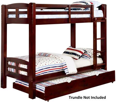 Furniture of America CMBK618TEXBED Solpine Series  Twin Size Bed
