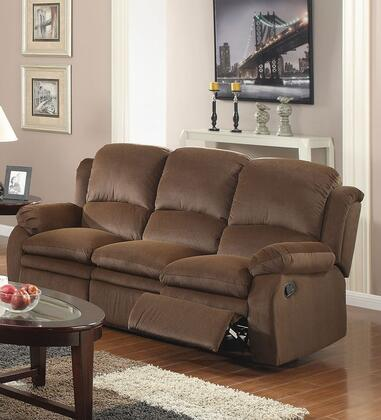 Acme Furniture 51800 Garton Series Reclining Velvet Sofa