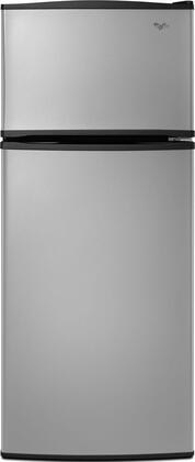Whirlpool W8RXNGMBD Freestanding Top Freezer Refrigerator with 17.6 cu. ft. Total Capacity