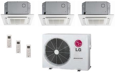 LG 704123 Triple-Zone Mini Split Air Conditioners