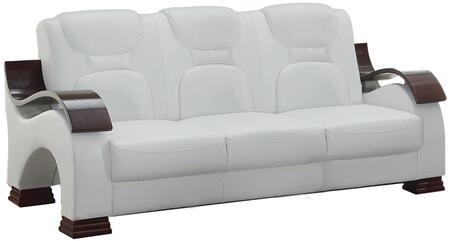 Glory Furniture G487S  Stationary Faux Leather Sofa