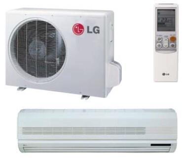 LG LS240HSV2 Mini Split Air Conditioner Cooling Area,