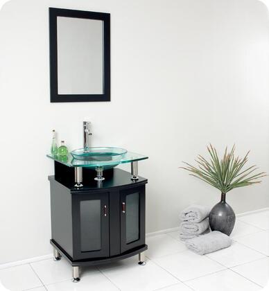Fresca FVN331XES Contento Espresso Modern Bathroom Vanity with Mirror
