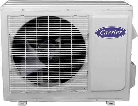 """Carrier 38MFQ012--- 36"""" Comfort Series Mini Split Ductless Outdoor Unit with 12000 Cooling and Heating BTU, Low Sound Levels, Fast Installation and Individual Room Comfort, in White:"""