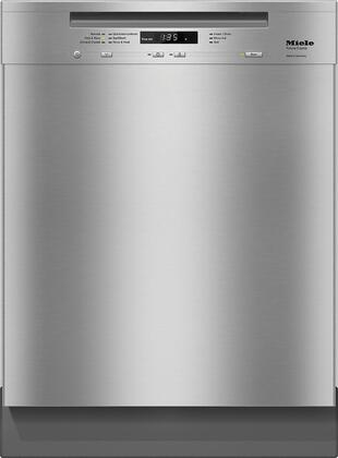 """Miele G6625x 24"""" Crystal Series Energy Star Certified Built-In Dishwasher with 45 dBA, 6 Cycles, 16 Place Settings, and AutoOpen Drying, in"""
