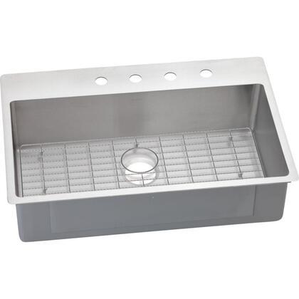 Elkay ECTSRS33229BG3 Polished Satin Kitchen Sink