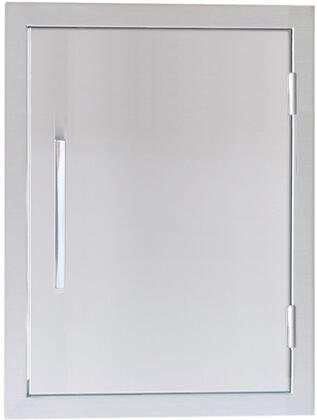 Sunstone BA-D17 Signature Series Belved Frame Single Access Door in Stainless Steel